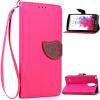 Розовый Дизайн Кожа PU откидная крышка бумажника карты держатель чехол для LG G3 Stylus lg g3 s