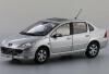 1:18 модельный автомобиль PEUGEOT 307 с серебристым литьем peugeot 307 1 6 hdi