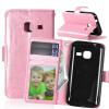 Pink Style Classic Flip Cover с функцией подставки и слотом для кредитных карт для SAMSUNG Galaxy J1 Mini/J105F