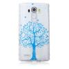 Синий дерево шаблон Мягкий чехол тонкий ТПУ резиновый силиконовый гель чехол для LG G5