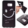 Улыбающиеся лица картины мягкий тонкий ТПУ резиновый силиконовый гель Дело Чехол для Samsung Galaxy S6 Plus