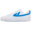 Warrior классическая пара моделей холст обувь мужская и женская обувь спортивная обувь баскетбольная обувь повседневная обувь мужская и женская обувь весна и осень ретро классический WB-1 синий и белый 42 женская обувь