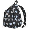 MOMOgirl младших школьников мешок женщина ветер колледжа небольшой свежий холст сумка рюкзак M5282 черный женский вторичный юаней клавиатура mp 09a33su 5282