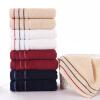 Золотой номер полосатый полотенце текстильный хлопок полотенце полотенце полотенце восемь нагруженный