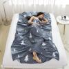 Zero Explore LIVTOR Travel Hotel Hotel Cotton Печать Гигиенические листы Наружная портативная грязная анти-грязная хлопчатобумажная спальная сумка Lobster Single 120 * 230 см
