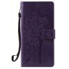 Purple Tree Design PU кожа флип крышку кошелек карты держатель чехол для HUAWEI NEXUS 6P