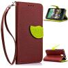Коричневый Дизайн Кожа PU откидная крышка бумажника карты держатель чехол для HTC Desire 610 htc 610 for htc desire 610