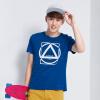 Semir Semir футболка с короткими рукавами шею с коротким рукавом футболки лето мужская мода хлопок 19216001903 китайский синий L