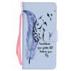 Blue Feather Design Кожа PU откидной крышки Кошелек Карты Держатель чехол для SAMSUNG J7Prime blue feather design кожа pu откидной крышки кошелек карты держатель чехол для samsung a310 a32016