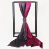 STORY OF SHANGHAI шелковый шарф повелительница шелковый шелковый шарф платок фиолетовый красный темно-серый