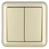 ABB переключатель гнездо панели кварто одного управления переключателем Dejing серии Gold AJ104-PG полюс abb 1sca105461r1001
