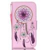 Розовый Белл Дизайн Кожа PU откидная крышка бумажника карты держатель чехол для IPhone 4S розовый дизайн кожа pu откидная крышка бумажника карты держатель чехол для xiaomi 4s m4s