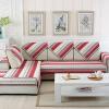 FANROL диван дивана четыре сезона диван диван диван подушка матрас линии простой диван подушки костюм Shangri-La красный 90 * 180 см