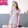 [Супермаркет] Jingdong Фен Тенг пижам 2017 летом новый женский с коротким рукавом спортивный костюм костюм брюки J9724448 розовый S спортивный костюм fila 14 25413730 3760