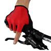 ROCKBROS Cycling Half Finger Gloves Противоскользящие велосипедные рукавицы Гоночные дорожные велосипедные перчатки Ventilate велосипедные перчатки mai senlan m81013