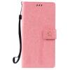 Pink Tree Design PU кожа флип крышку кошелек карты держатель чехол для HUAWEI NEXUS 6P
