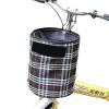 BOWONIKE Велосипедная корзина Холст-корзина Велосипедная корзина для верховой езды