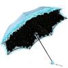 Jingdong [супермаркет] рай зонтик (солнце значение защиты UPF50 +) трикотажное виниловые зонтики сложенный зонтик 31804E нежный зеленый upf50 rashguard bodyboard al004