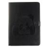 Черный Panda Стиль Тиснение Классический откидная крышка с подставкой Функция и слот кредитной карты для iPad 2/3/4 2 в 1 емкостный сенсорный экран стилус и шариковая ручка для ipad 2 3 iphone 4 и 4s
