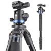 Benro (Benro) AF18 + Штатив алюминиевый штатив SLR Canon Nikon штатив камеры голова профессиональной фотографии пакет профессиональная цифровая slr камера nikon d3300 18 140 18 105mm