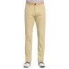 Leiothrix xiangsiniao случайные брюки мужские весной и осенью сплошной цвет хлопка саржевого брюки прямые брюки Y3 желтый 28 брюки и капр