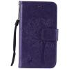 Purple Tree Design PU кожа флип крышку кошелек карты держатель чехол для LG K4 purple tree design pu кожа флип крышку кошелек карты держатель чехол для samsung c5