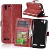 Браун Стиль Классический Флип Обложка с функцией подставки и слот для кредитных карт для Lenovo VIBE K5/K5 Plus/A6020 lenovo для vibe k5 a6020 k5 plus