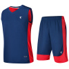 Иордания мужской баскетбольный костюм спортивный баскетбольный костюм XNT2372121 закат синий / Aurora красный XL
