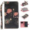 Красочные цветы Дизайн PU кожа флип кошелек карты держатель чехол для HUAWEI P9 красочные бабочки дизайн pu кожа флип кошелек карты держатель чехол для huawei p9