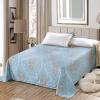 Ivy (AVIVI) листы цельный хлопок 40 саржа печать большая односпальная кровать двуспальная кровать 1,5 м / 1,8 м кровать 230 250 мода Париж кровать