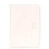 Белый цветок дизайн искусственная кожа флип кошелек карты держатель чехол для IPAD 234