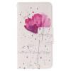 Фиолетовый орхидеи Дизайн PU кожа флип кошелек карты держатель чехол для Samsung Galaxy J5 8 fun factory big boss g4 ярко розовый
