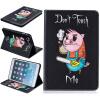 Свинья Стиль Выбивка Классический откидная крышка с функцией подставки и слот для кредитных карт для iPad Mini 123 свинья стиль выбивка классический откидная крышка с функцией подставки и слот для кредитных карт для ipad 4