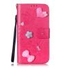 Цветок розы Дизайн PU кожа флип кошелек карты держатель чехол для LG G3 lg g3 s
