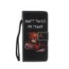 Черный медведь дизайн PU кожа флип крышку кошелек карты держатель чехол для LG G5 фиолетовый орхидеи дизайн pu кожа флип кошелек карты держатель чехол для lg g5