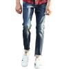 Carver пионерлагере упругие ноги джинсовые брюки мужские джинсы темно-синие брюки 611 004 34 dismero джинсовые брюки