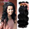 Горячие продажи Малайзии Дева волос тела волны 8A необработанных волос Virgin 3Bundles Малайзии тела волна волос