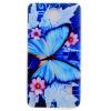 Голубая бабочка шаблон Мягкий чехол тонкий ТПУ резиновый силиконовый гель чехол для Huawei Y635 голубая бабочка шаблон мягкий чехол тонкий тпу резиновый силиконовый гель чехол для lg g5