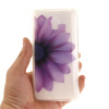 Половина цветок шаблон Мягкий тонкий резиновый ТПУ Силиконовый чехол Гель для Lenovo Vibe P1