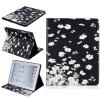 Маленькие белые цветы Стиль тиснение Классический откидная крышка с функцией подставки и слот для кредитных карт для iPad 4 shots toys vive cleo черный