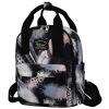 Dougu глаз (DouGuYan) мобильный двойной женский рюкзак корейский случайные спортивные 14 дюймов компьютер сумка G00293A черный douguyan 13 8l backpack