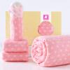 Слон младенец (elepbaby) четыре сезона мягкий хлопок воды мыть марля ребенка покрытие одеяло новорожденного полотенце полотенце слюны полотенце 4 комплекта розовый подарочной коробке babybbz ленты для предотвращения столкновения 4 метра розовый bbz 07s