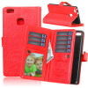 Red Style Classic Flip Cover с функцией подставки и слотом для кредитных карт для HUAWEI P9 Lite red style classic flip cover с функцией подставки и слотом для кредитных карт для huawei y635