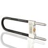 ЕМА велосипедный замок формой U для электрокара, электро-мотороллера, мотора ема велосипедный цепной противоугонный замок для горного велосипеда электро мотороллера велосипеда с глухой передачей
