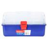 (WORKPRO) W083025N четырехслойный пластиковый ящик для инструментов бытовая коробка для хранения портативный автомобиль среднего размера коробка для искусства 14,5 дюймов