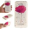 Фиолетовый орхидеи шаблон Мягкий чехол тонкий ТПУ резиновый силиконовый гель чехол для Alcatel One Touch Pop C7 чехол для alcatel pop s9 7050y силиконовый tpu черный матовый