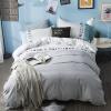 YALU&FREEDOM постельные принадлежности набор 4 штуки удобная простыня чехол на одеяло 100% хлопок yalu