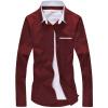 Мужская мужская молодежная мужская молодежная мужская молодежная футболка GEEDO CS029 Wine Red 3XL