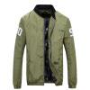 Battlefield Jeep случайные бейсбол воротник куртки мужской моды напечатанных мужская с длинными рукавами светло-голубые куртки мужчины 17086Z520 L куртки