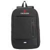 SVVISSGEM Рюкзак 14,6-дюймовый устойчивый к царапинам водонепроницаемый наружный бизнес случайный плечо мешок компьютера унисекс черный портфель SA-9899